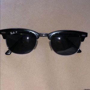 Ray-Ban CLUBMASTER METAL POLARIZED sunglasses